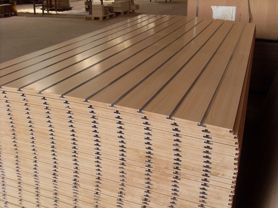 Slotted mdf boards